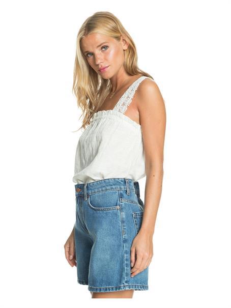 Roxy Morning Splendour - Denim Bermuda Shorts for Women