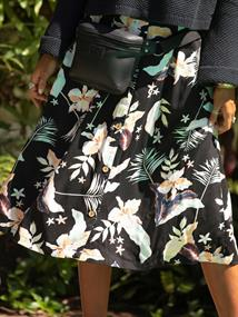 Roxy Night Time - Midi Skirt for Women