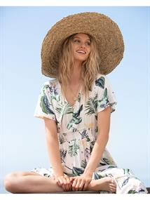 Roxy Only The Ocean - Straw Sun Hat for Women