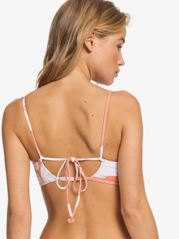 Roxy Printed Beach Classics - Atletische Triangel Bikinitop voor Dames