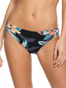 Roxy Printed Beach Classics - Bedekkend Bikinibroekje voor Dames Zwart tinten