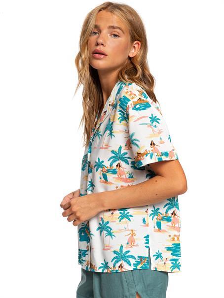 Roxy Remind To Forget - Overhemd met Korte Mouw voor Dames