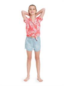 Roxy Ring Ring - Short Sleeve Shirt for Girls 4-16