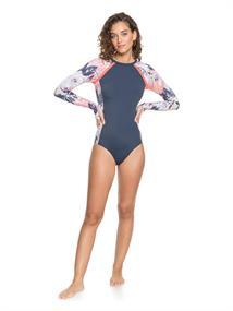 Roxy ROXY Fitness - Long Sleeve UPF 50 One-Piece Swimsuit for Women