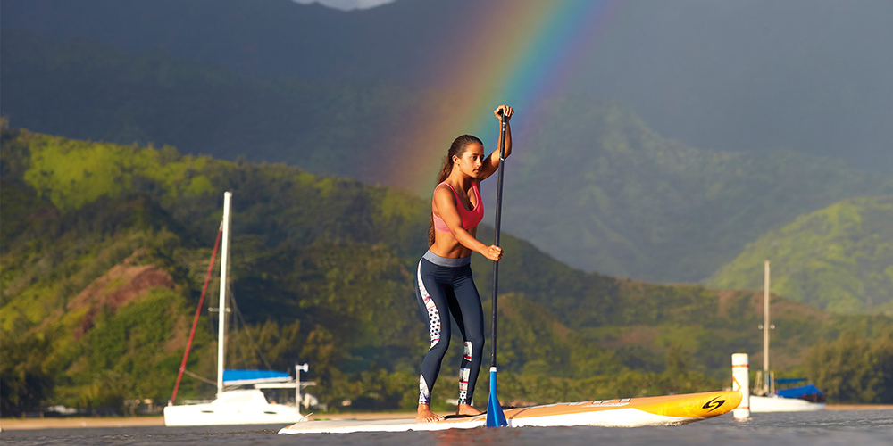 "ROXY RUN-SUP-YOGA event | International ""Make Waves Move Mountains"" Tour"