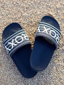 Roxy Slippy - Slippers voor Meisjes Blauw tinten