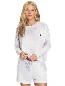 Roxy Sunshine Spirit - Cosy Long Sleeve Tie-Dye Top for Women