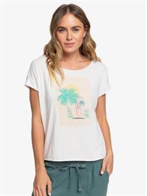 Roxy Sweet Summer Night B - T-Shirt voor Dames Wit tinten