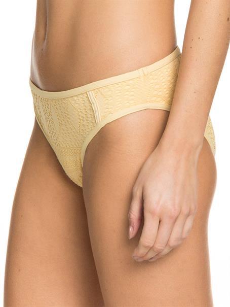 Roxy Sweet Wildness - Bedekkend Bikinibroekje voor Dames Geel tinten
