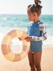Roxy Swim Lovers - Long Sleeve UPF 50 Rash Vest Set for Girls 2-7