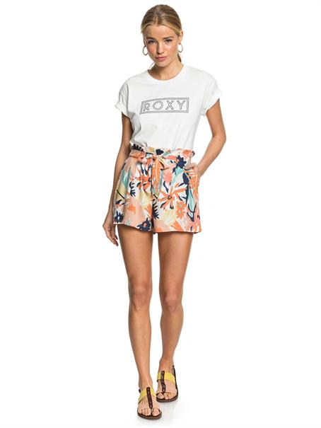 Roxy The South Side - Paper Bag Shorts met Hoge Taille voor Dames