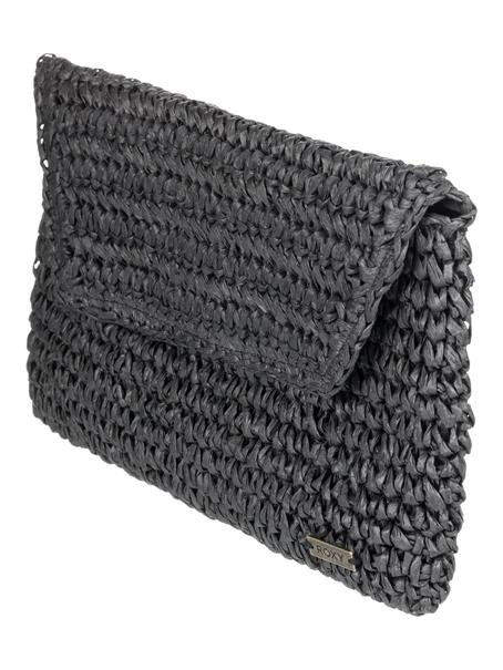 Roxy Timeless Tide - Straw Clutch Bag