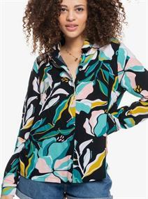 Roxy White Shadow - Overhemd met Lange Mouw voor Dames