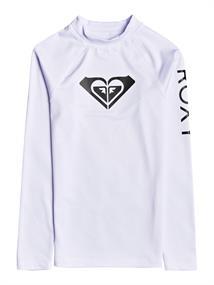 Roxy Whole Hearted - Long Sleeve UPF 50 Rash Vest for Girls 8-16