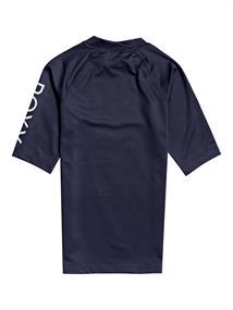 Roxy Whole Hearted - Short Sleeve Rash Vest for Girls 8-16