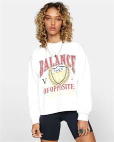 RVCA Cambridge - Sweater voor Dames