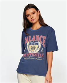 RVCA Cambridge - T-shirt voor Dames