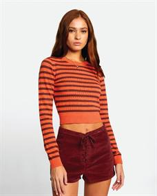 RVCA Camille Rowe Paris Pointelle - Sweater voor Dames