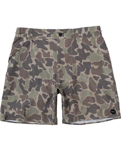 "RVCA Canyon Hemp 17"" - Hybrid Shorts for Men"