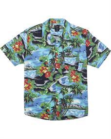 RVCA Kawela - Short Sleeve Shirt for Men