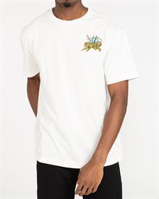 RVCA Matt Leines Ml Tiger - T-shirt voor Heren