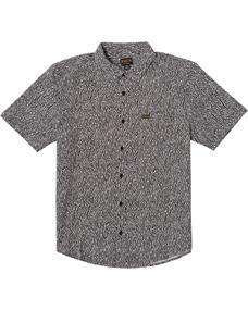 RVCA Matt Leines - Overhemd met Korte Mouw voor Heren