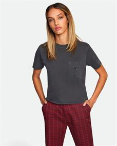 RVCA Matt Leines Tiger face - T-shirt voor Dames