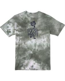 RVCA PEACE OUT SS T-SHIRT