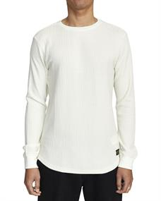 RVCA Recession Collection Day Shift - Long Sleeve Thermal Top for Men