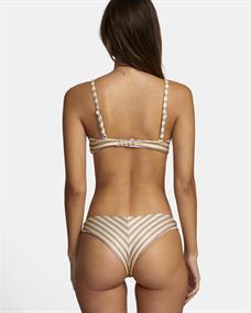 RVCA Stripe Out Bralette - Bikini Top for Women