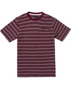 RVCA Toluca Micro Stripe - T-shirt voor Heren