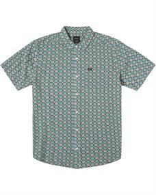 RVCA Vanner Gauze - Short Sleeve Shirt for Men