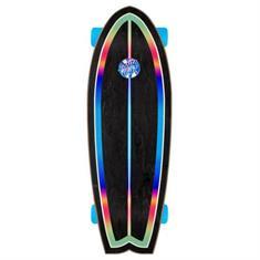 """Santa cruz Iridescent dot Shark 27.7"""" cruiser Skateboard"""