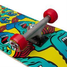 "Santa cruz Mandala Hand Large Skateboard complete 8.25"""