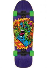 Santa cruz Toxic Hand Shaped Cruiser 9'7 skateboard