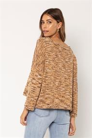 SISSTREVOLUTION BLISSED OUT L/S KNIT SWEATER