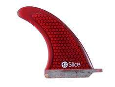 "Slice slice rtm hexcore us-box centre fin 8"" red Rood"