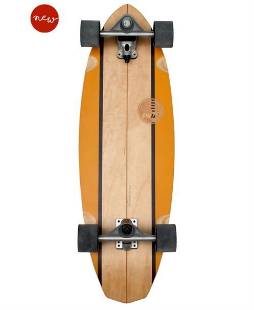 "Slide Surfskates Diamond 32"" Waimea - Surf Skateboard"