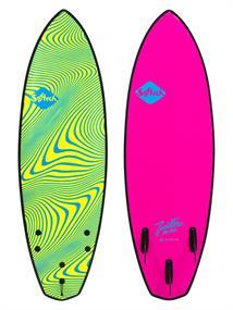 Softech Toledo Wildfire FCSII Softtop Surfboard
