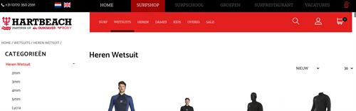 Stage Webshop