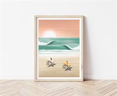 Studiotrev Giclée Print with Frame