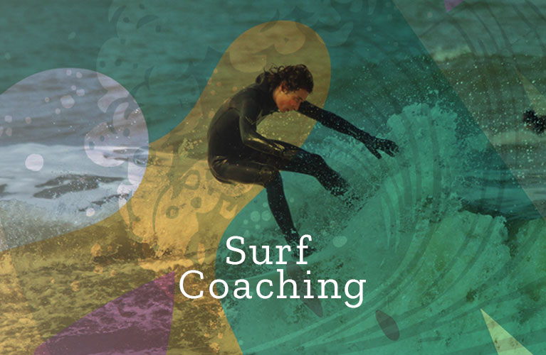 surf coaching mobile banner