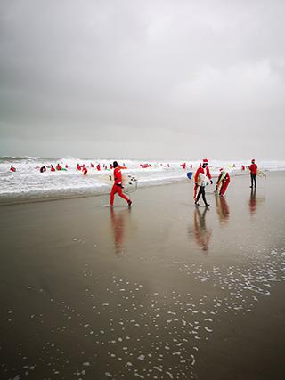 Surfing Santa's 4