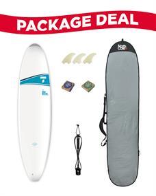 Tahe 7'3 Mini-Malibu Surf Package Deal