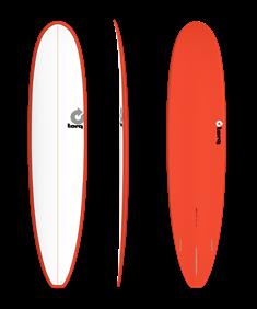 Torq Torq Longboard Red-White Rood tinten