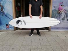 Town & Country Retro Single PU Futures Surfboard