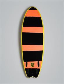 """Vision 6'0"""" Quad Fish Orange"""