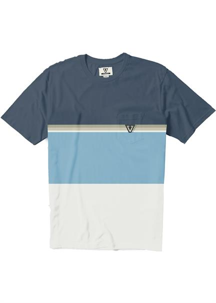 Vissla Point Breaker SS PKT Tee-VBL