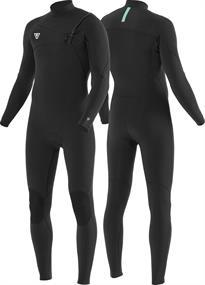 Vissla SEVEN SEAS COMP 3-2 FULL CHEST ZIP-BLK wetsuit