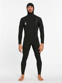 Volcom 4/3 MM hooded chestzip fullsuit wetsuit